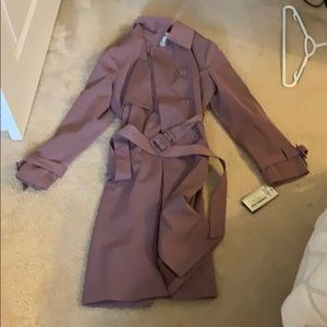 London fog trench coat NWT size large